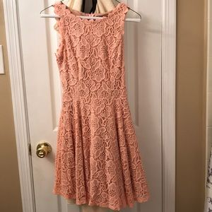 Light Coral Pink City Studio Dress